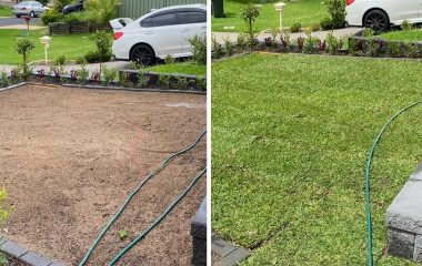 Landscaping & Turf Laying