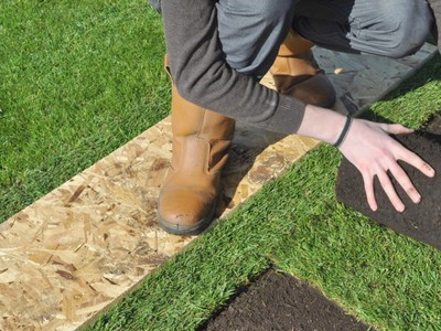 Professioanl Turf Laying Services